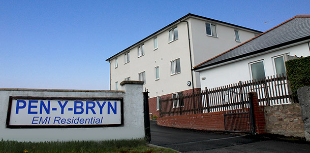 Pen y Bryn Entrance